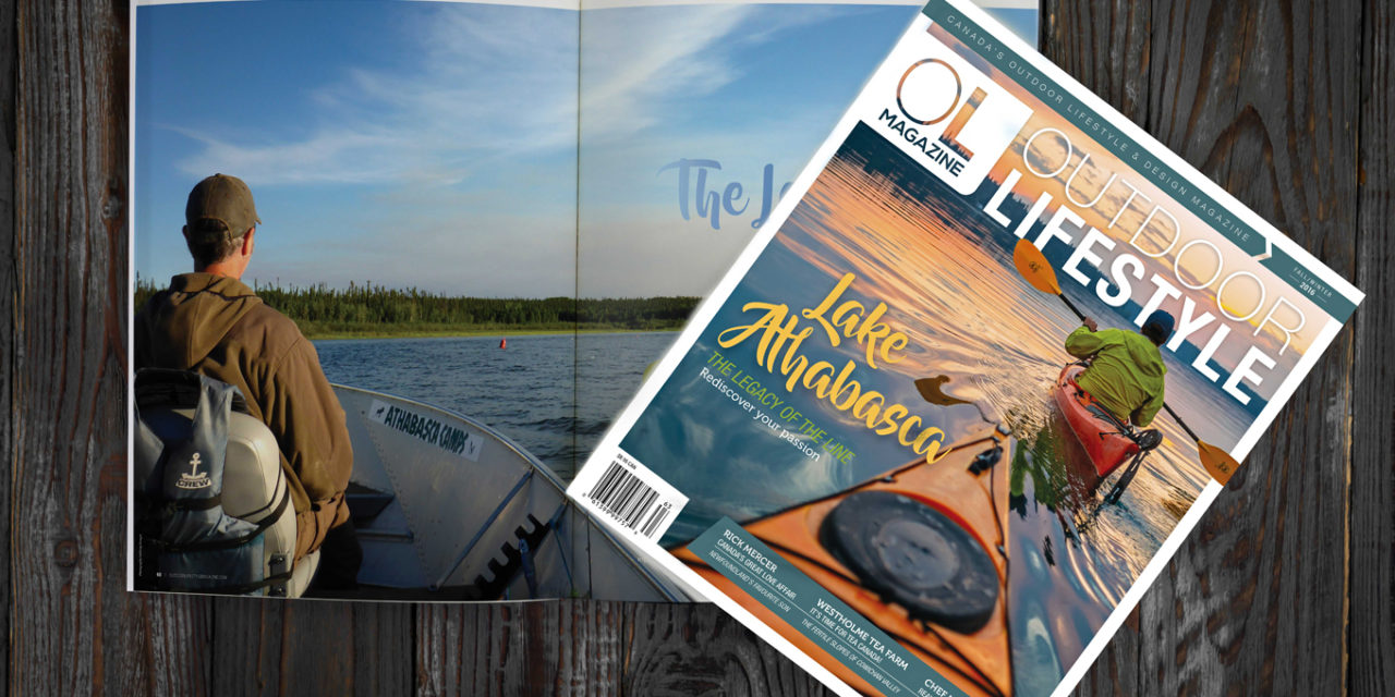 THE LEGACY OF THE LINE – Lake Athabasca