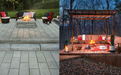 DECK VS PATIO – A Decision based on space